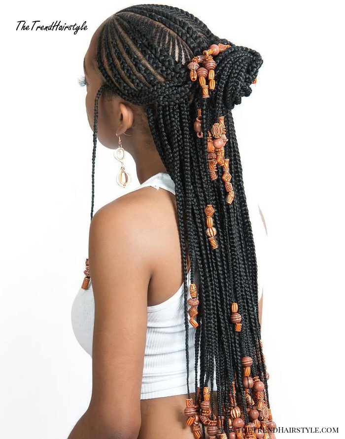 Wrapped Ponytail with In-Front-Of-the-Ear Braids - 20 ...