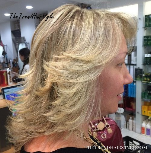 Full And Flirty 60 Unbeatable Haircuts For Women Over 40 To Take On Board In 2019 The Trending Hairstyle