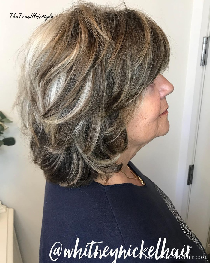 50+ Medium Length Hairstyles For Thick Hair