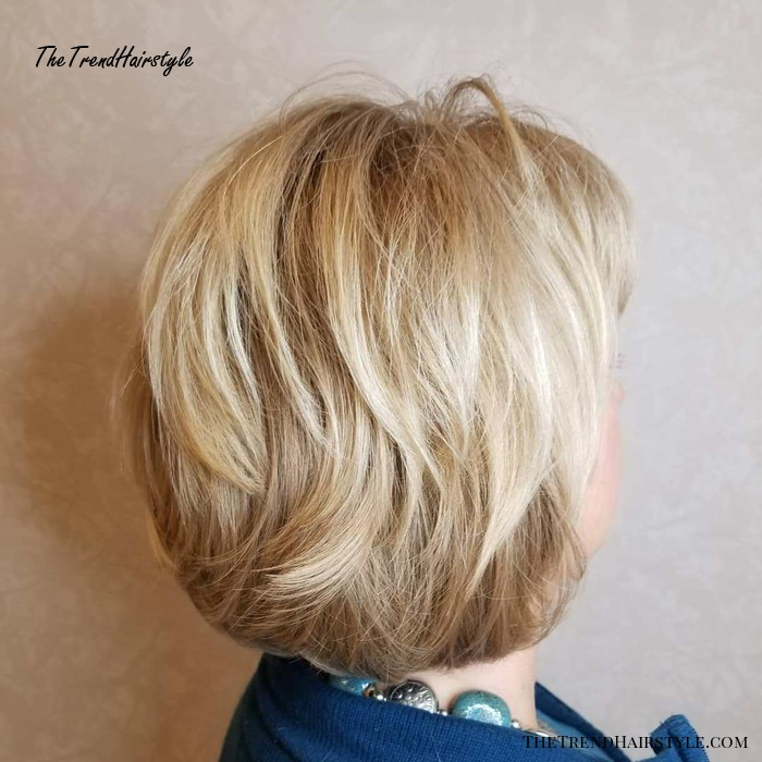 50+ Short Blonde Hairstyle With Layers