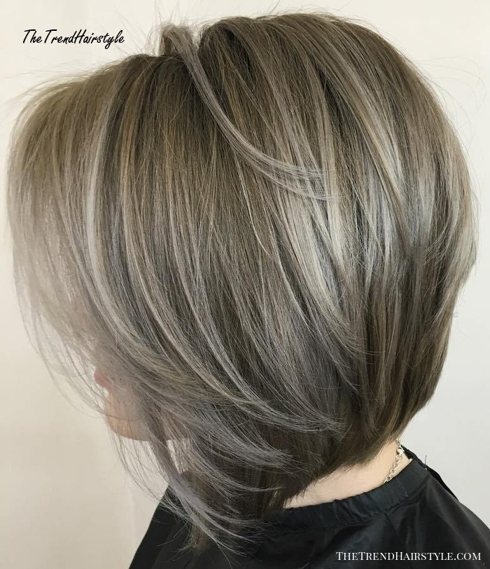 textured wavy midlength cut  60 best bob hairstyles for