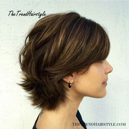 Short Layered Hair Style 60 Classy Short Haircuts And Hairstyles For Thick Hair The Trending Hairstyle