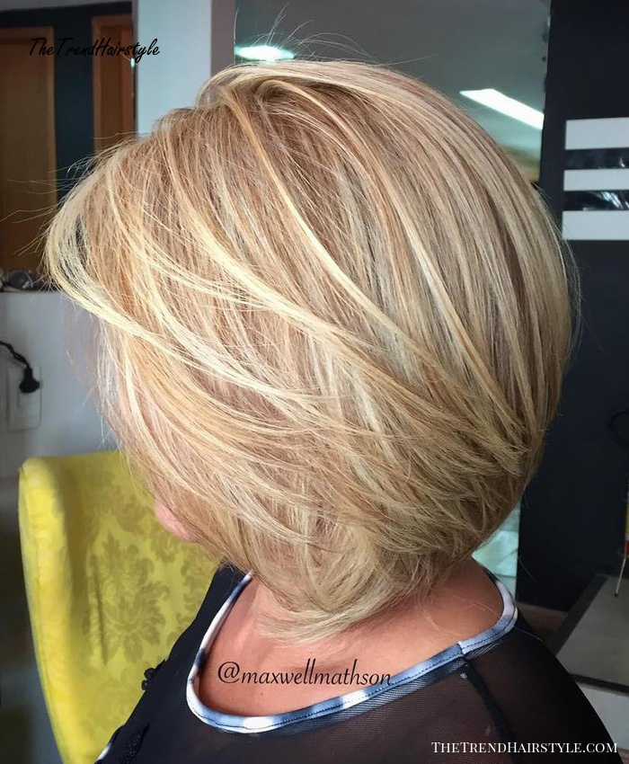 Medium Layered Haircut 80 Best Hairstyles For Women Over 50 To Look Younger In 2019 The Trending Hairstyle