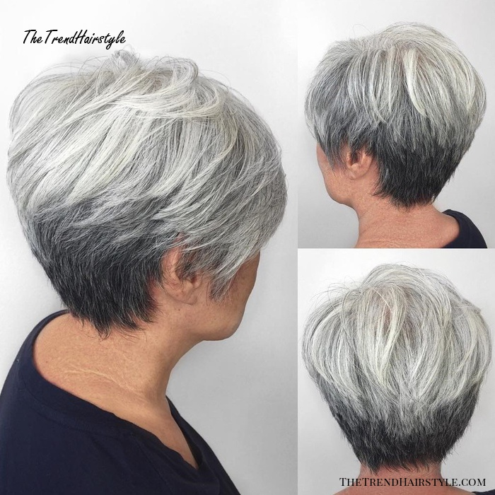 Layered Hairstyles Short Haircuts For Women Over 50 2019 100