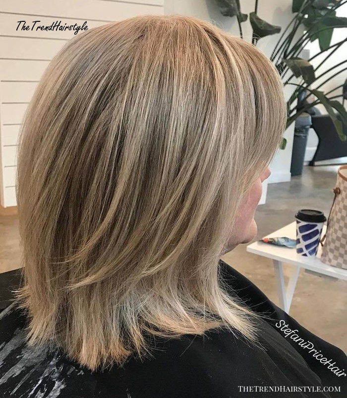 medium layered haircut  80 best hairstyles for women over