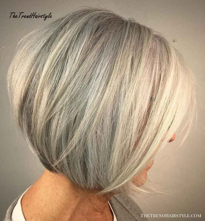 Stacked Ash Layers 60 Best Hairstyles And Haircuts For Women Over 60 To Suit Any Taste The Trending Hairstyle