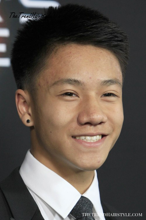 Mens Haircut with Cropped Quiff 40 Brand New Asian Men