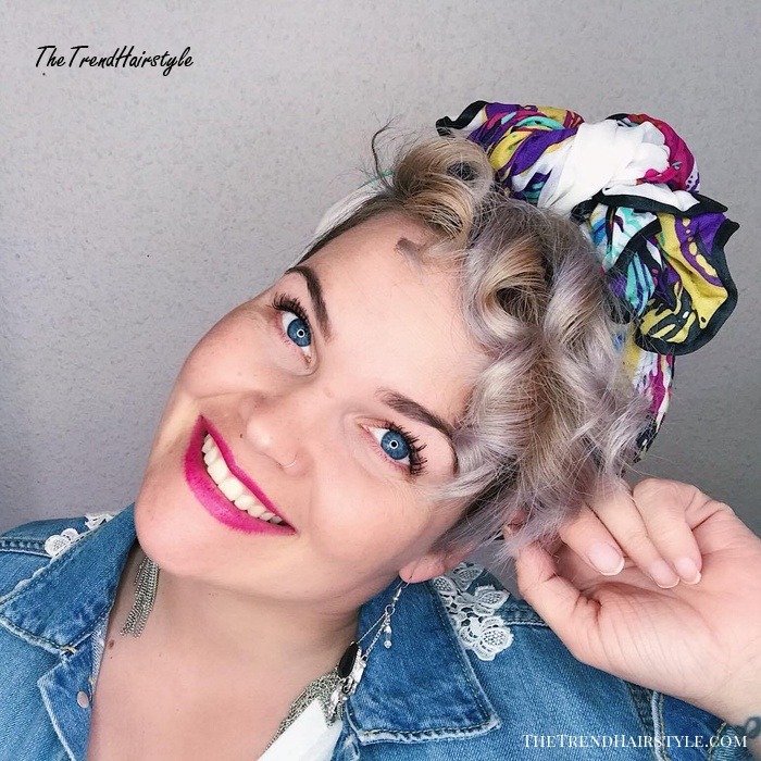 Easy To Manage Bandana Style 10 Cute And Easy Hairstyles For Short Hair The Trending Hairstyle