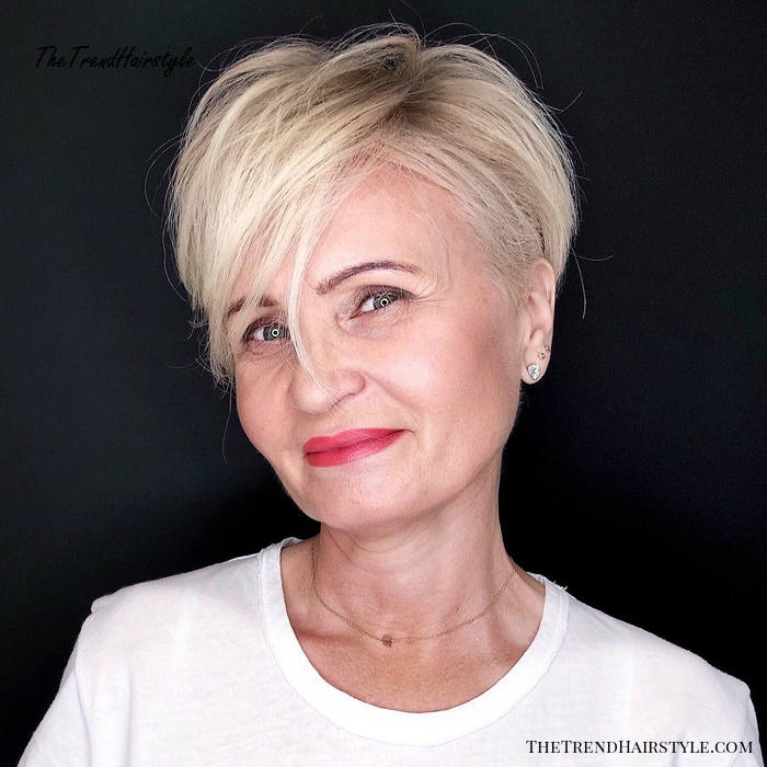Youthful Bright Blonde With Darkened Roots 20 Best Hair Colors For Women Over 50 The Trending Hairstyle Page 3