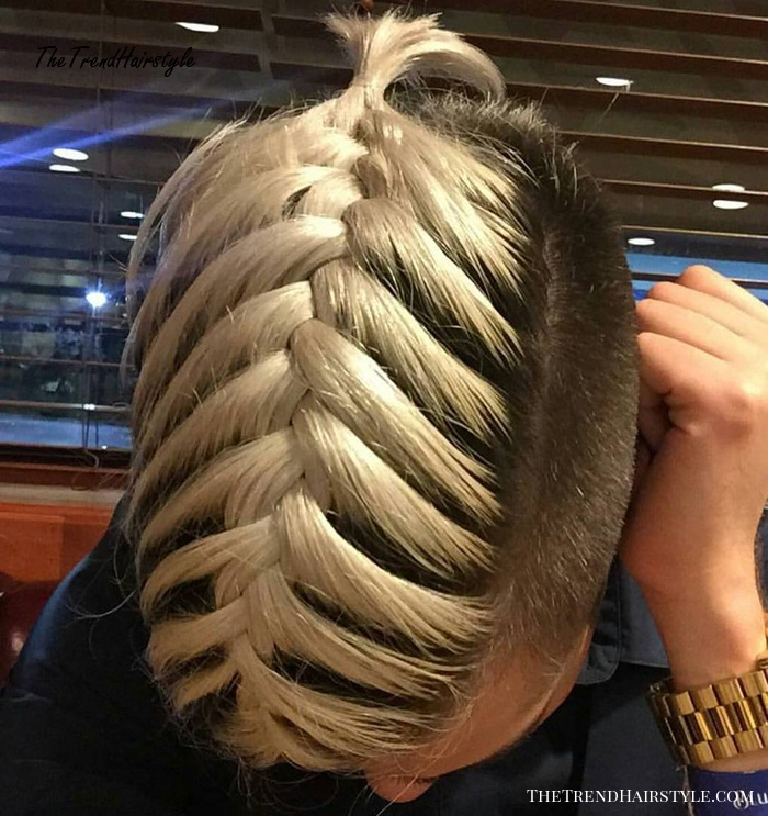 Braided Undercut Hairstyle For Men