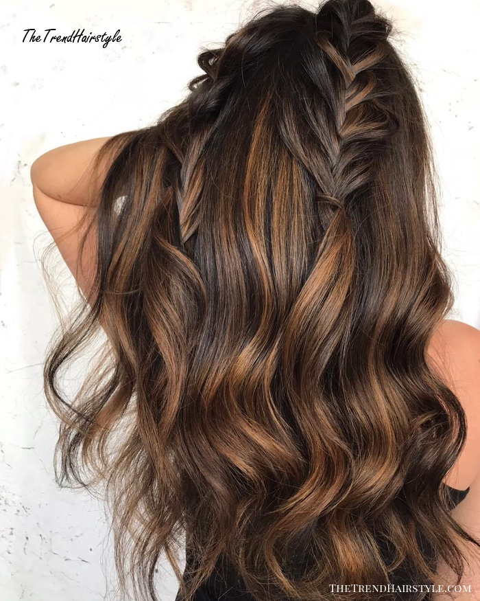 Espresso Base With Hazel Ribbons 60 Chocolate Brown Hair Color Ideas For Brunettes The Trending Hairstyle,Ikea Alex Drawer Organizer Reddit