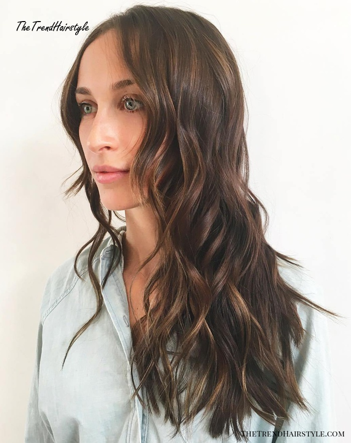 Brown Hair With Subtle Chocolate Highlights