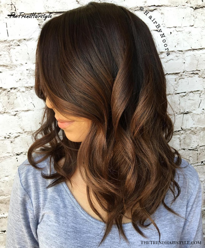 Espresso Base With Hazel Ribbons 60 Chocolate Brown Hair Color Ideas For Brunettes The Trending Hairstyle,Indian Bathroom Floor Tiles Design Pictures