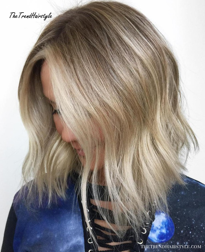Sleek Ash Blonde Hair 40 Styles With Medium Blonde Hair For Major Inspiration The Trending Hairstyle