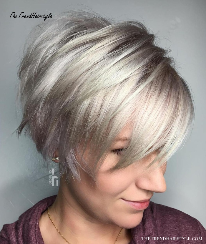 Layered Long Pixie Cut , 60 Gorgeous Long Pixie Hairstyles