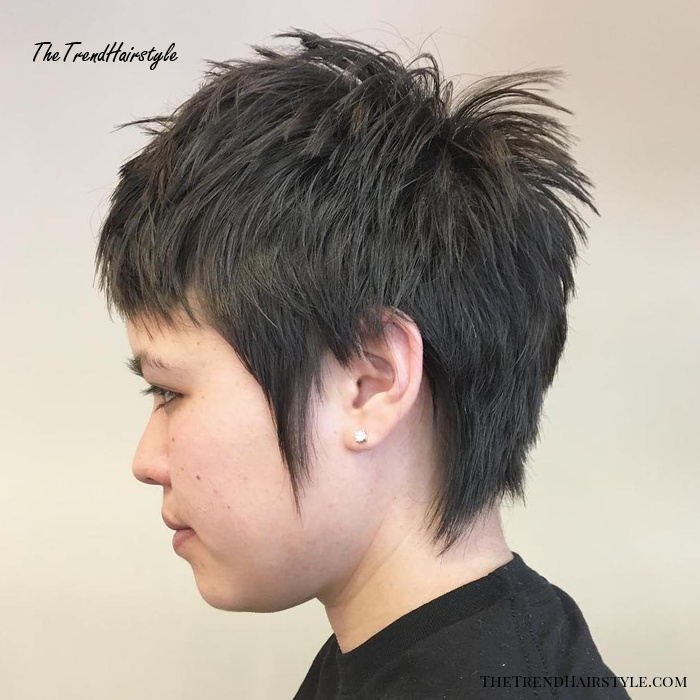 One Length Lob with Jagged Ends - 20 Gorgeous Razor Cut ...
