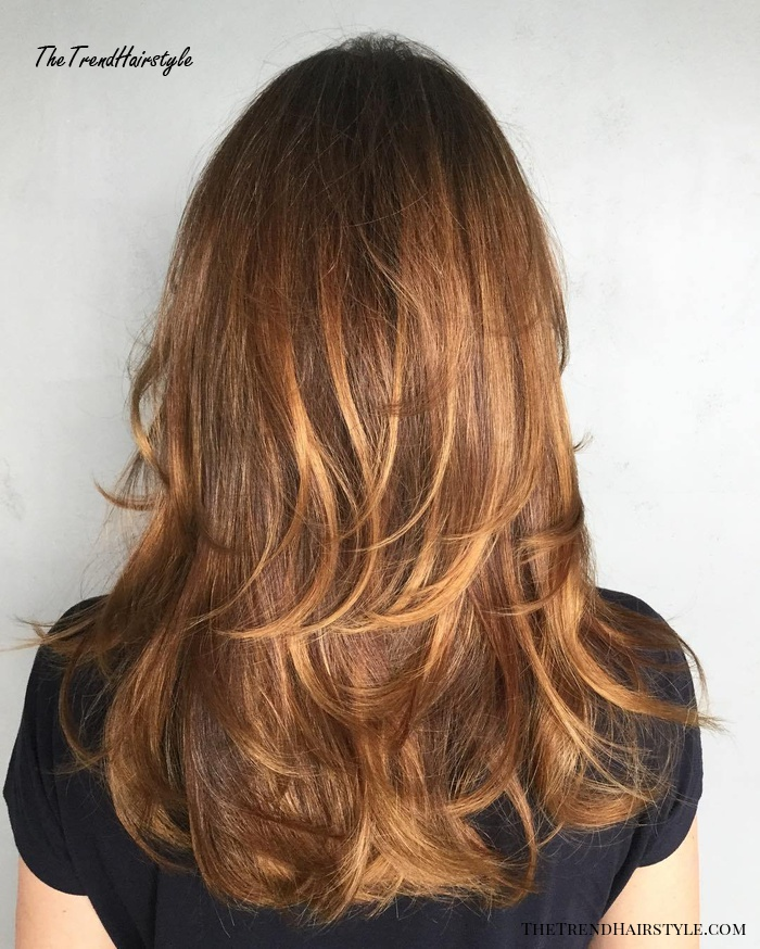 Cinnamon Brown Cut With Thin Layers