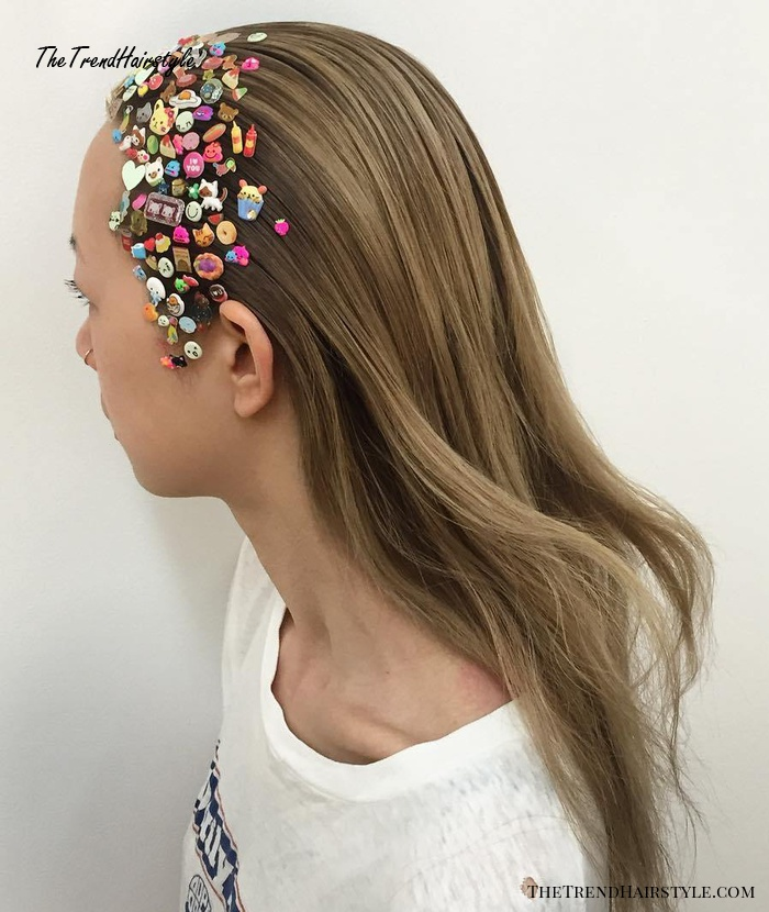 Colorful Sticker Hair