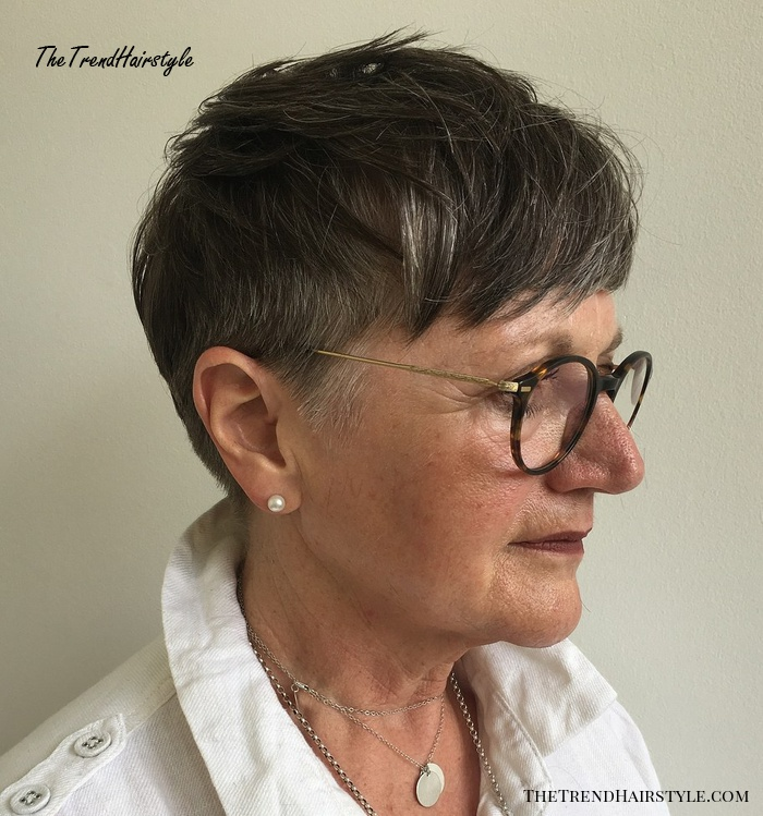 Cool Pixie With Undercut Sides