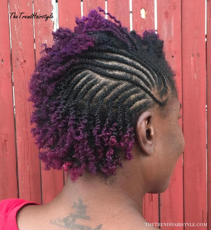 Cornrows and Twists for Short Hair