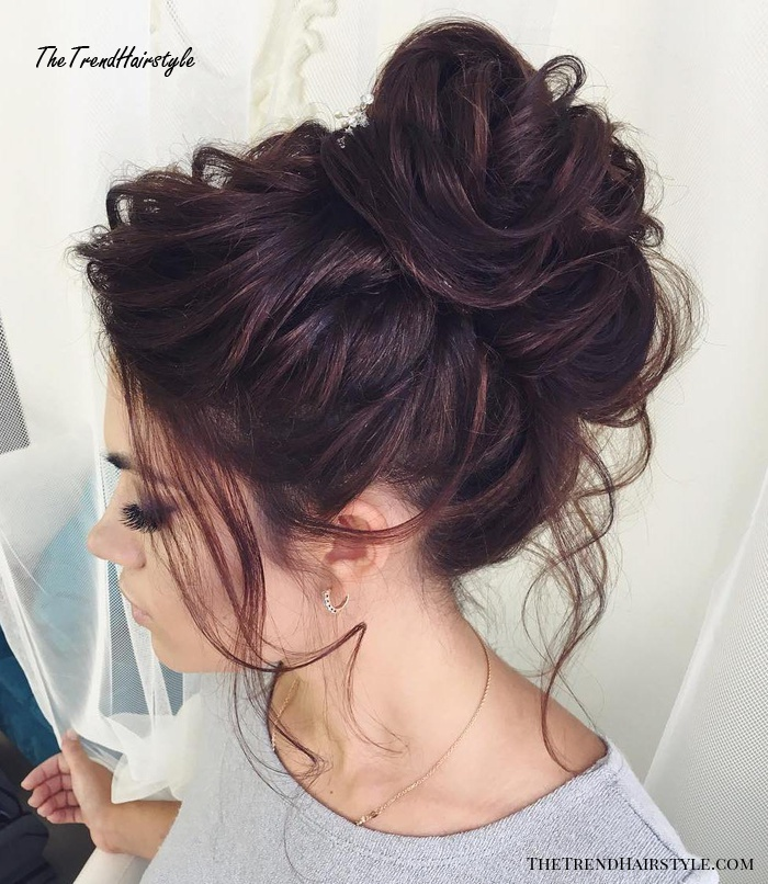 Rose Shaped Braided Bun 40 Updos For Long Hair Easy And Cute Updos For 2019 The Trending Hairstyle