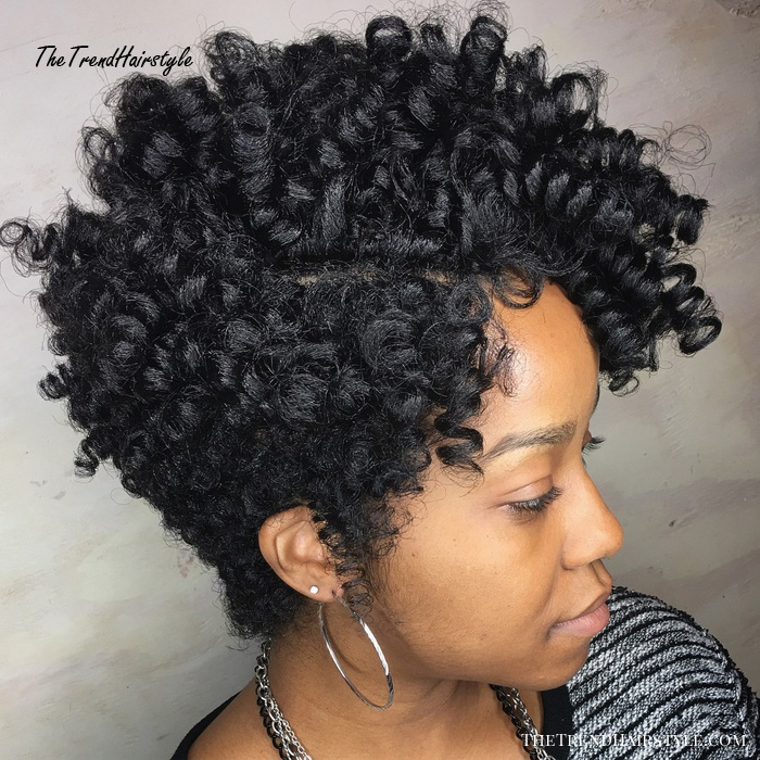 curly tapered cut for natural hair  50 most captivating