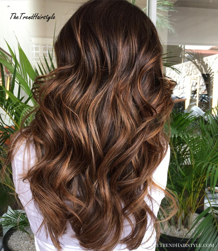 Espresso Base With Hazel Ribbons 60 Chocolate Brown Hair Color Ideas For Brunettes The Trending Hairstyle,Low Budget Low Cost L Shaped Modular Kitchen Designs Catalogue