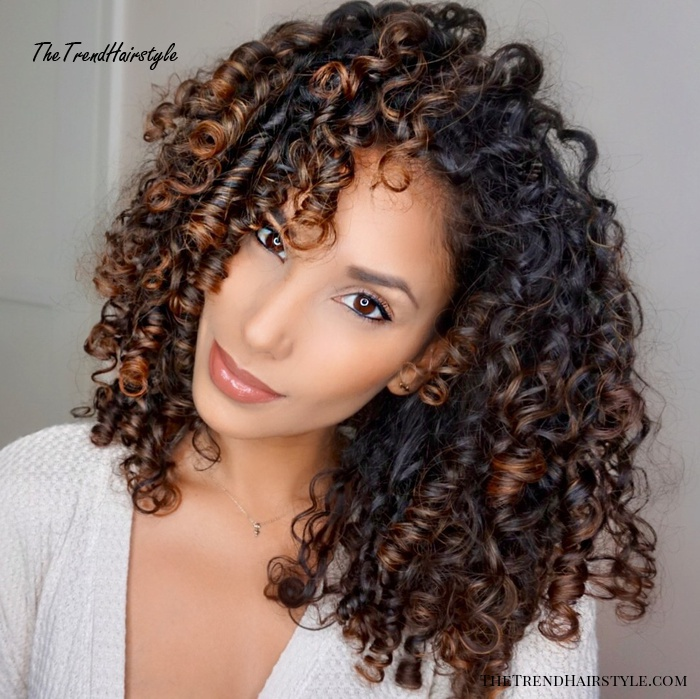 Curl Type 2 - Best Deva Cut Hairstyles for Curly and Wavy Natural Hair - The Trending Hairstyle
