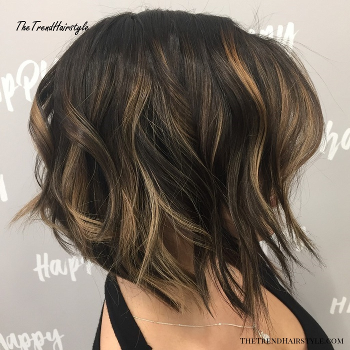 Shaggy Medium Length Bob - 60 Messy Bob Hairstyles for Your Trendy Casual Looks - The Trending ...