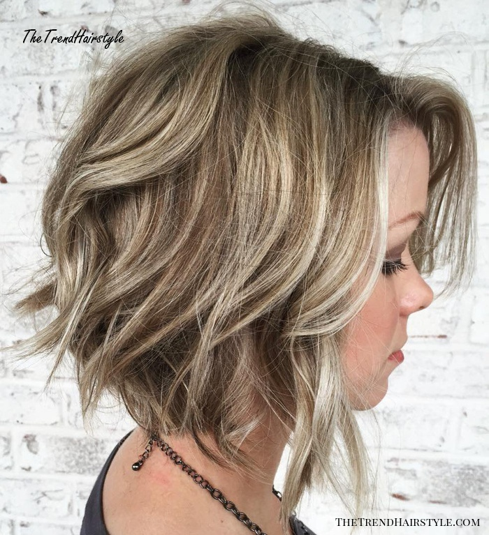 Disconnected Inverted Bronde Bob