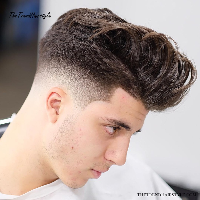 Drop Fade For Thick Hair