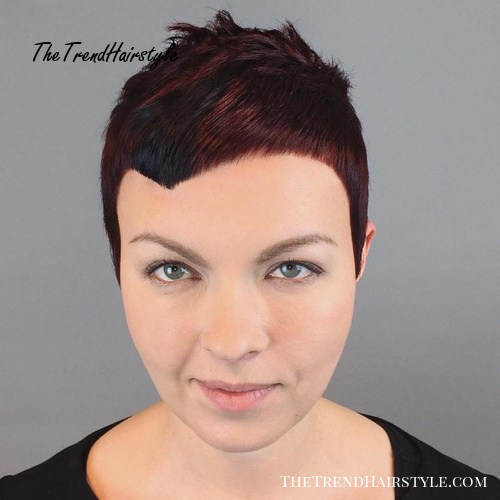 Wondrous Mahogany Brown Pixie Cut 20 Stunning Looks With Pixie Cut For Schematic Wiring Diagrams Amerangerunnerswayorg