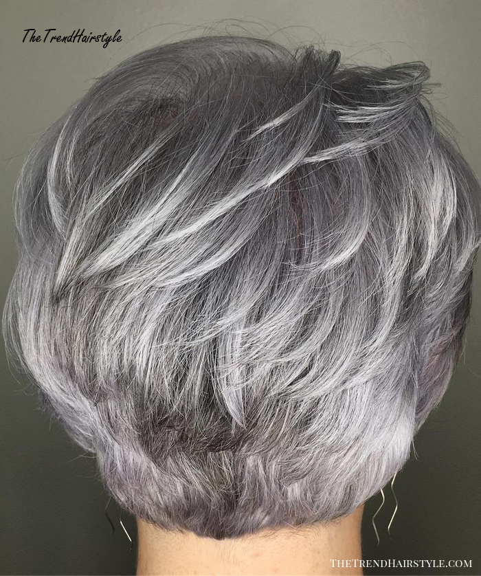 Feathered Gray Pixie