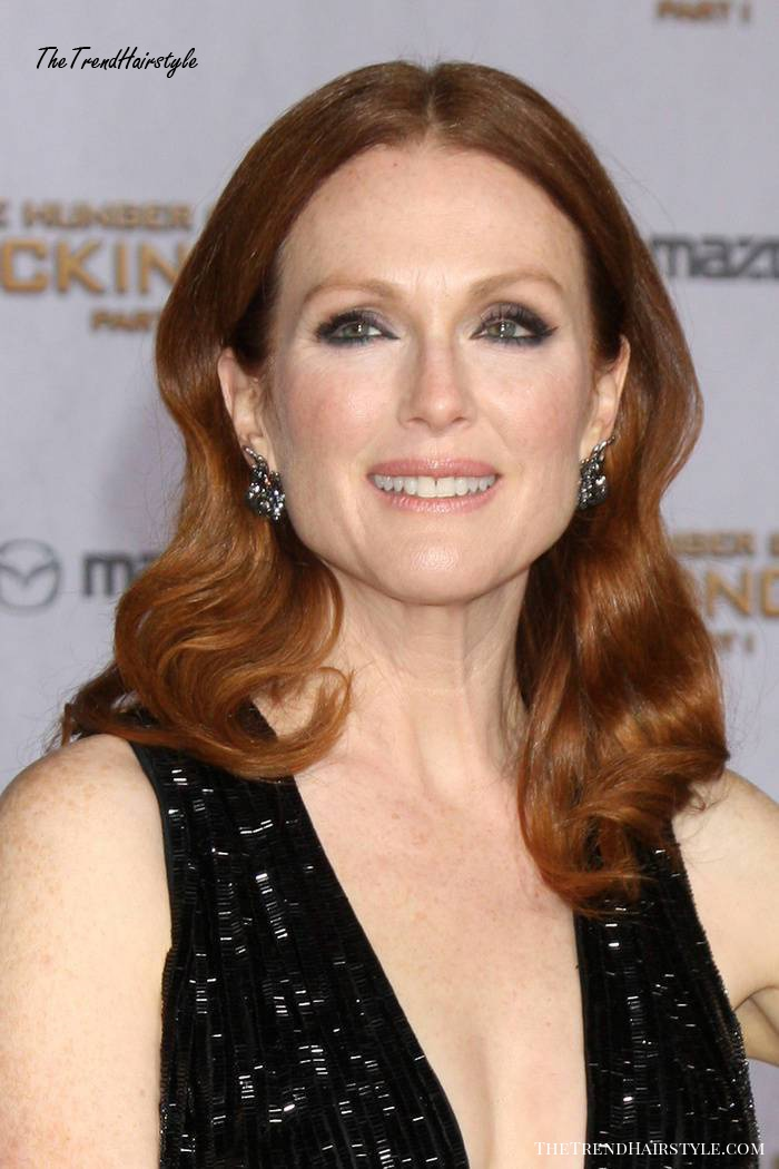 Julianne Moore red hairstyle