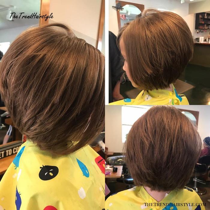 Clean Bob Haircut - 50 Cute Haircuts for Girls to Put You on Center Stage - The Trending Hairstyle
