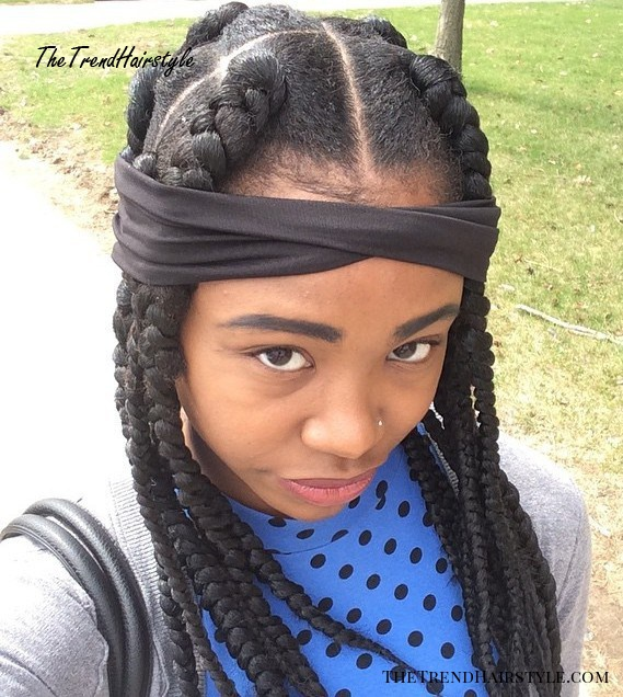 Large Dookie Braids For Girls