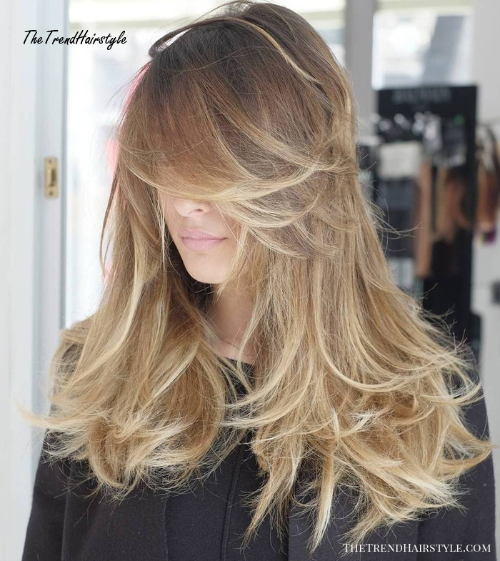 Modern Farrah Fawcett 50 Cute Long Layered Haircuts With Bangs 2019 The Trending Hairstyle Page 43