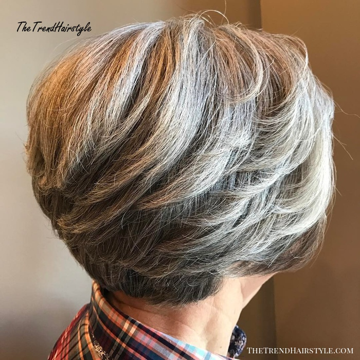 Layered Short Cut For Thick Hair