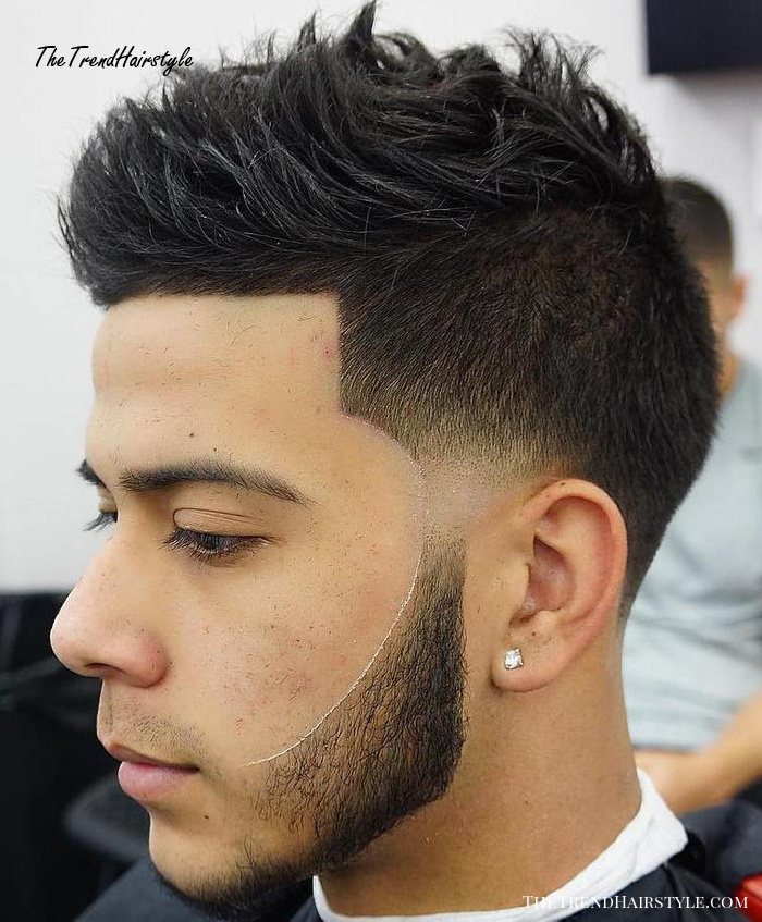 Linded Up Spiky Top Undercut