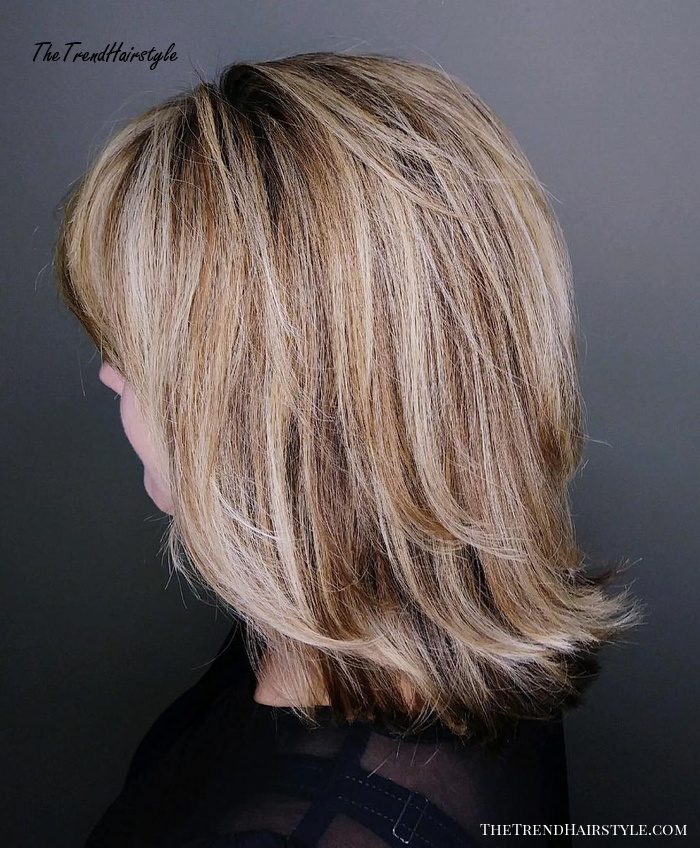 Long Bob With Highs And Lows