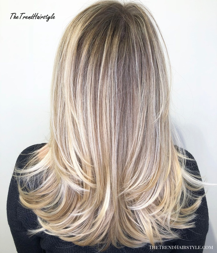 Shaggy Blonde Waves   40 Picture Perfect Hairstyles for ...