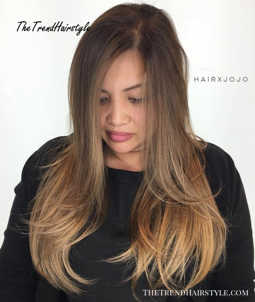 Long Layers With Cappuccino Highlights 20 Jaw Dropping