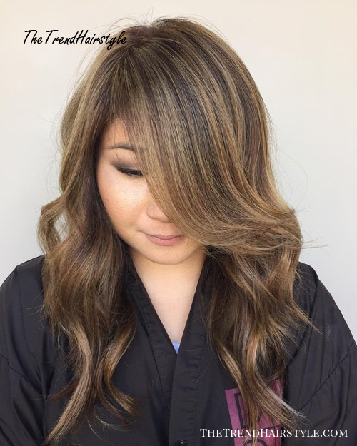 Long Layers with Cappuccino Highlights - 20 Jaw-Dropping ...