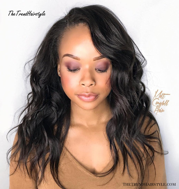 Miraculous Long Curly Weave Style Sew Hot 40 Gorgeous Sew In Hairstyles Schematic Wiring Diagrams Amerangerunnerswayorg