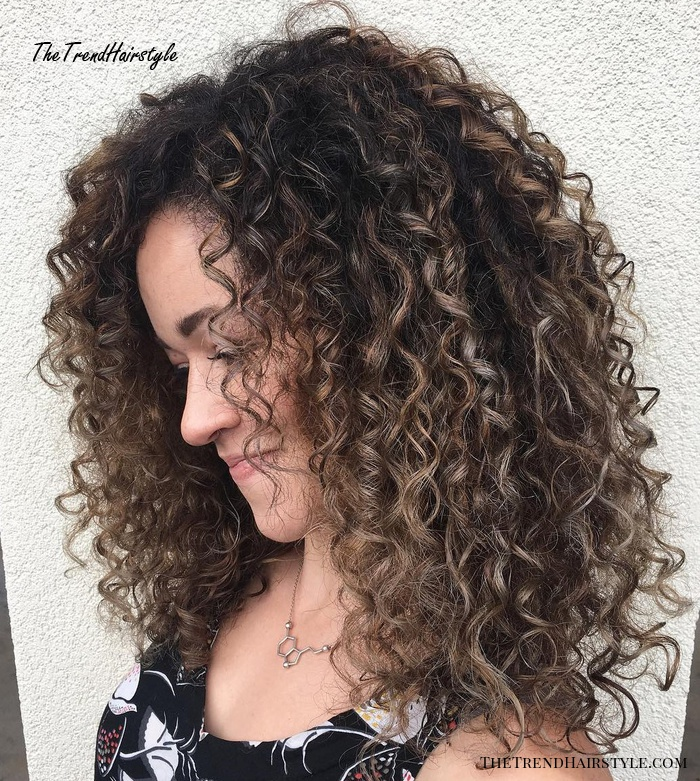 Long Natural Hairstyle