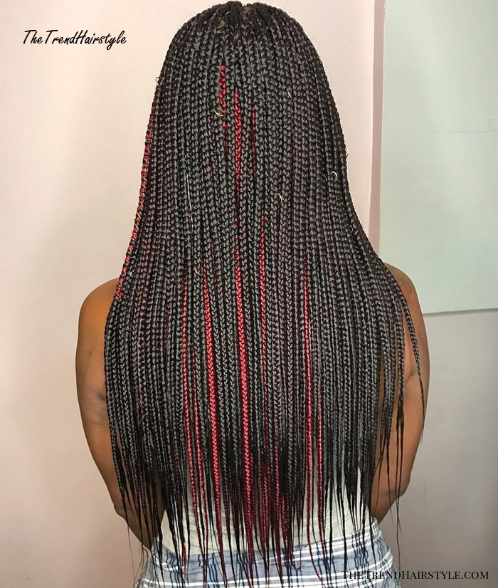 Long Skinny Braids Extensions
