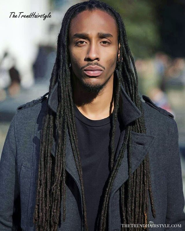 Black Men Bun Hairstyle 20 Terrific Long Hairstyles For Black Men The Trending Hairstyle