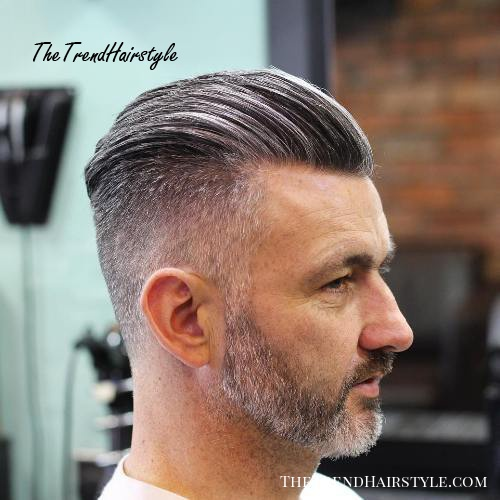 Salt And Pepper Slick Back 20 Trendy Slicked Back Hair Styles The Trending Hairstyle
