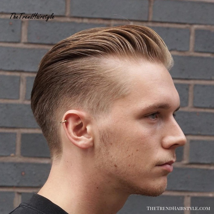 Long Top Short Sides Hairstyle For Balding Men