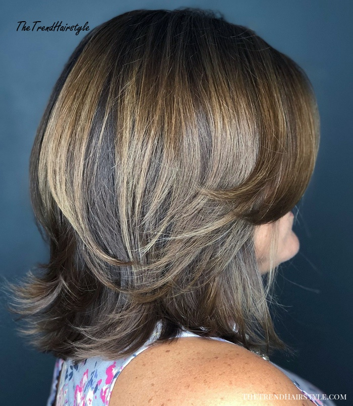 Medium Layered Haircut   80 Best Hairstyles for Women Over ...
